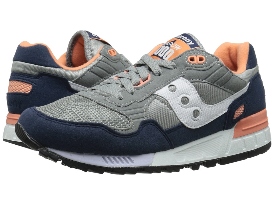 Saucony Originals - Shadow 5000 (Grey/Blue 2) Men's Classic Shoes