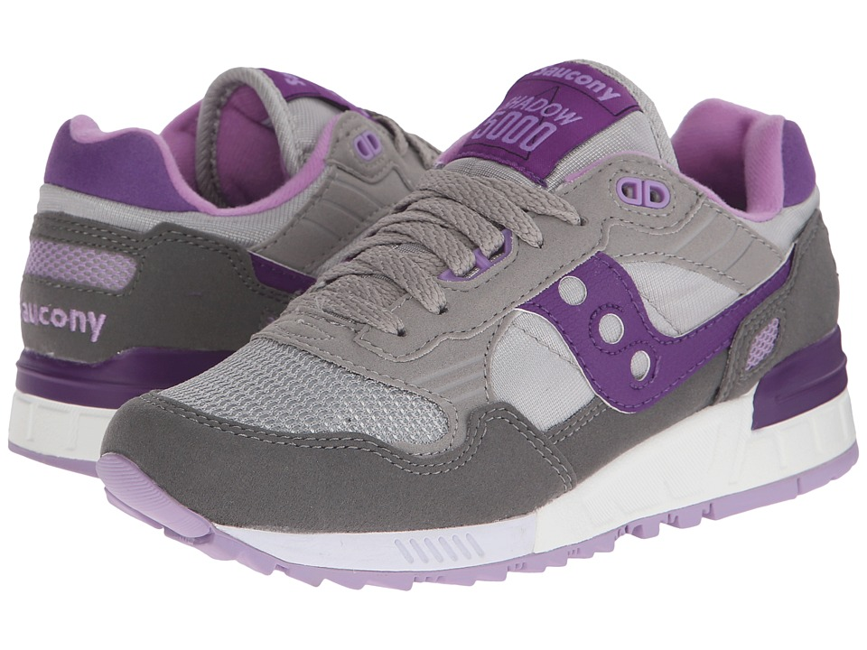 Saucony Originals - Shadow 5000 (Grey/Purple 1) Women's Classic Shoes