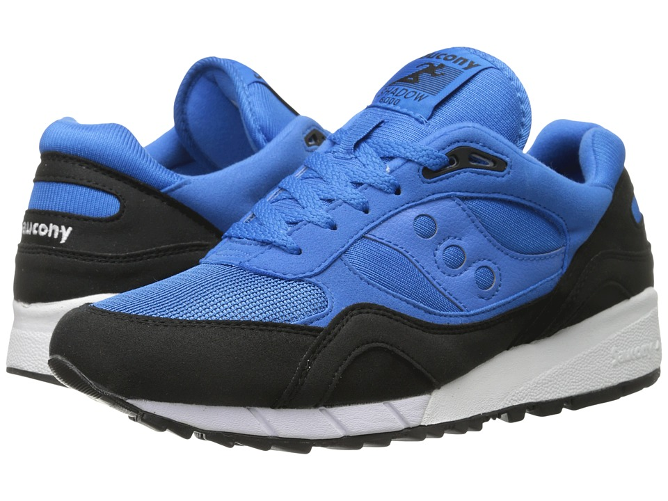Saucony Originals - Shadow 6000 - Coral Reef Pack (Blue/Black) Men's Classic Shoes