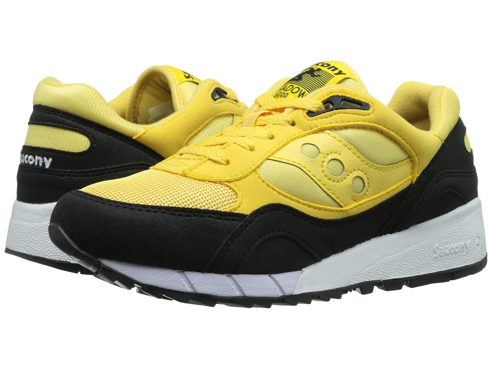 Saucony Originals - Shadow 6000 - Coral Reef Pack (Yellow/Black) Men's Classic Shoes
