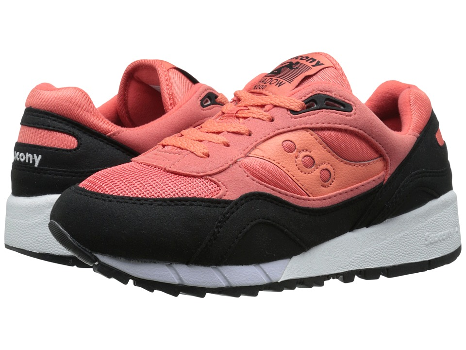 Saucony Originals - Shadow 6000 - Coral Reef Pack (Coral/Black) Men's Classic Shoes