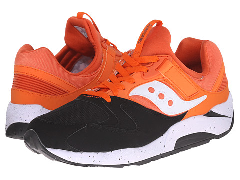 Saucony Originals - Grid 9000 - Hallowed Pack (Black/Orange) Men's Classic Shoes