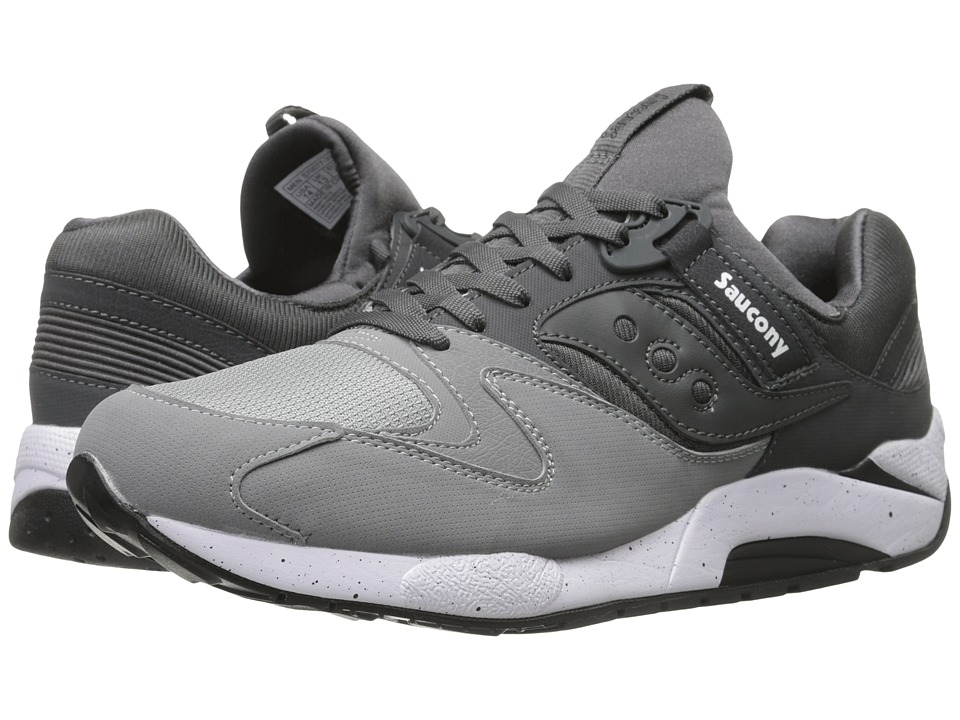 Saucony Originals - Grid 9000 (Grey/Charcoal) Men