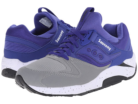 Saucony Originals - Grid 9000 (Grey/Blue 1) Men's Classic Shoes