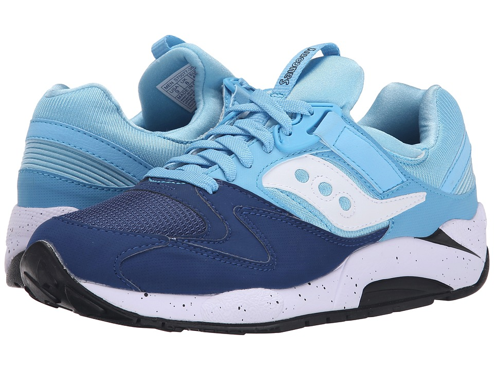 Saucony Originals - Grid 9000 (Navy/Blue) Men
