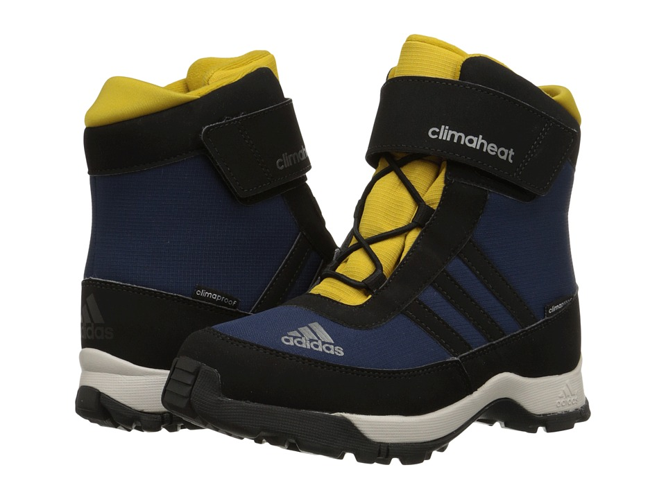Image of adidas Outdoor Kids - Adisnow CF CP (Little Kid/Big Kid) (Collegiate Navy/Black/Raw Ochre) Kids Shoes