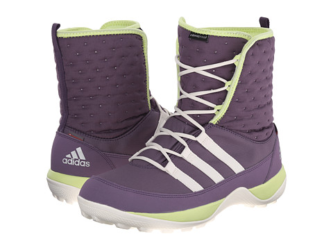 adidas Outdoor Kids - Libria Pearl CP (Little Kid/Big Kid) (Ash Purple/Chalk White/Frozen Yellow) Girls Shoes