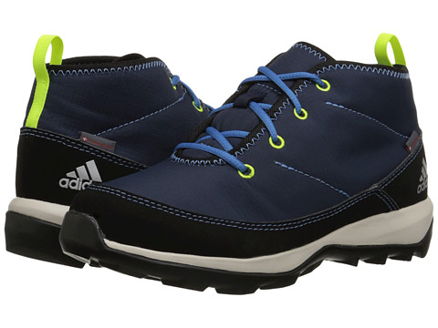 adidas Outdoor Kids - Daroga Chukka (Little Kid/Big Kid) (Collegiate Navy/Black/Super Blue) Boys Shoes