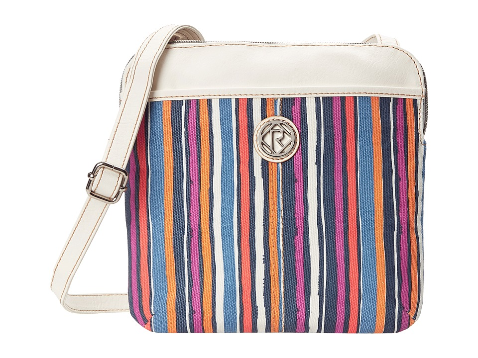 Relic - Erica Double Pouch Crossbody (Spring Stripe) Cross Body Handbags