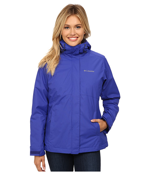 Columbia - Nordic Cold Front Interchange Jacket (Light Grape/Inkling) Women's Coat