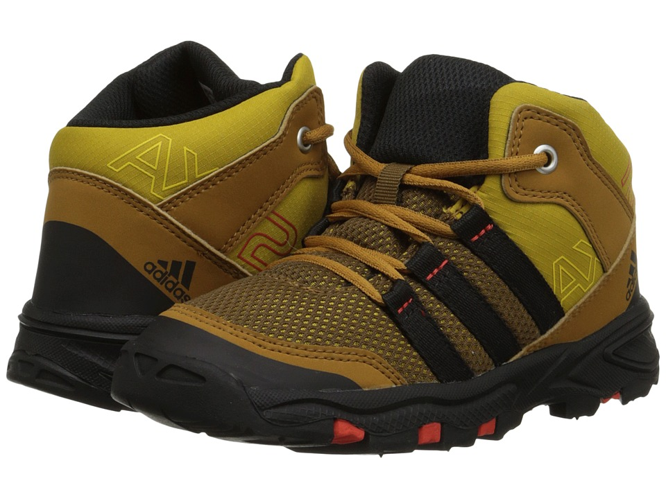adidas Outdoor Kids - AX2 Mid (Infant/Toddler) (Raw Ochre/Black/Bold Orange) Boys Shoes
