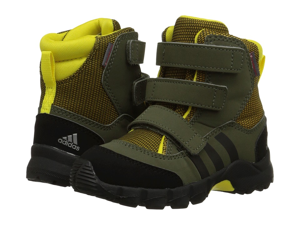 adidas Outdoor Kids - Holtanna Snow CF (Infant/Toddler) (Raw Ochre/Black/Night Cargo) Boys Shoes