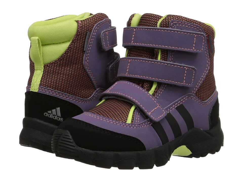 adidas Outdoor Kids - Holtanna Snow CF (Infant/Toddler) (Raw Pink/Black/Ash Purple) Girls Shoes