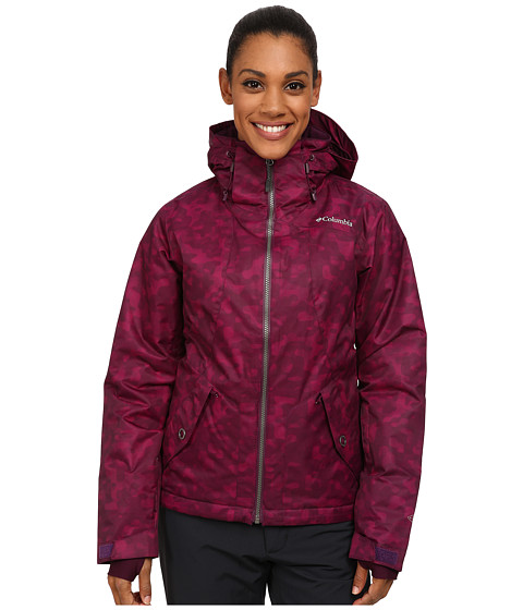 Columbia - Unparalleled Jacket (Purple Dahlia Lava Print) Women's Coat