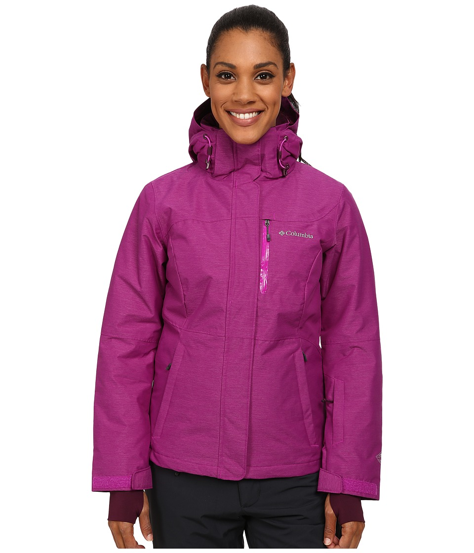 Columbia - Alpine Action Omni-Heat Jacket (Bright Plum Crossdye/Bright Plum) Women's Coat