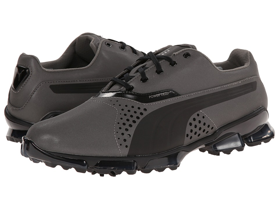 PUMA Golf - Titantour Flash (Black) Men's Golf Shoes