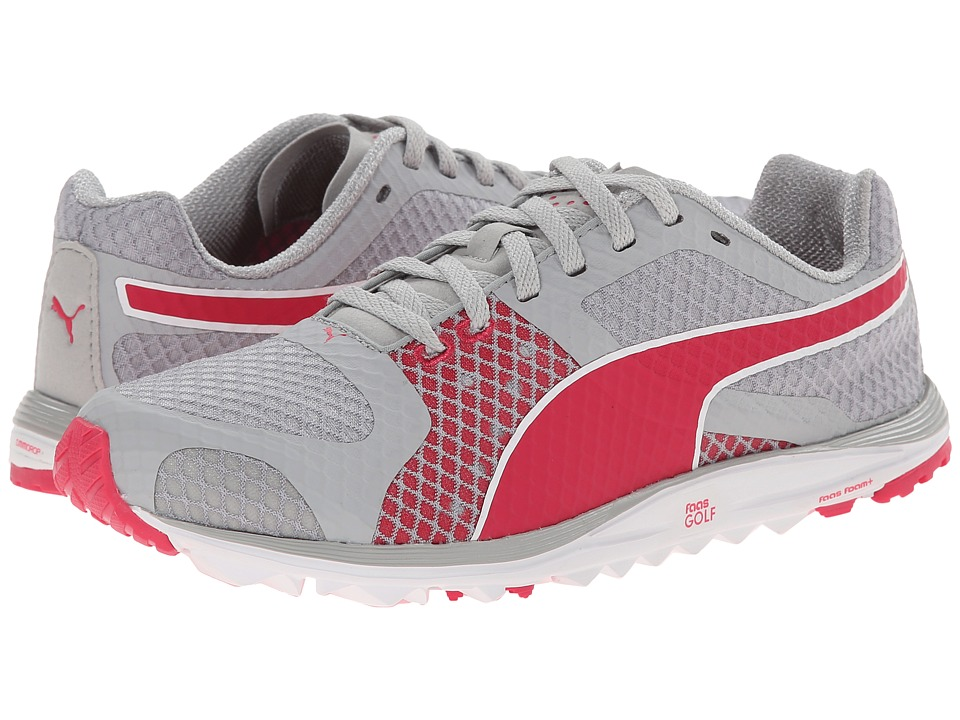 PUMA Golf - Faas Xlite (Vapor Blue/Raspberry) Women's Golf Shoes