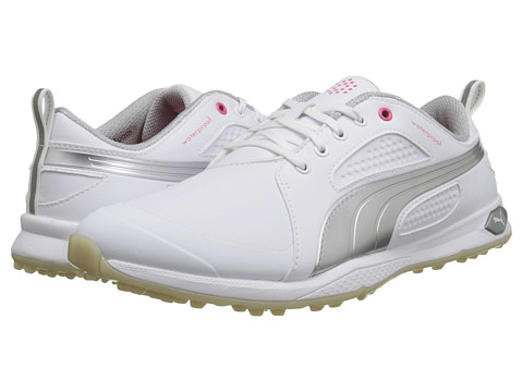 PUMA Golf - Biofly (White/Puma Silver/Vapor Blue) Women