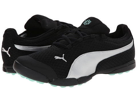 PUMA Golf - Sunnylite Mesh (Black/Puma Silver/Cabbage) Women