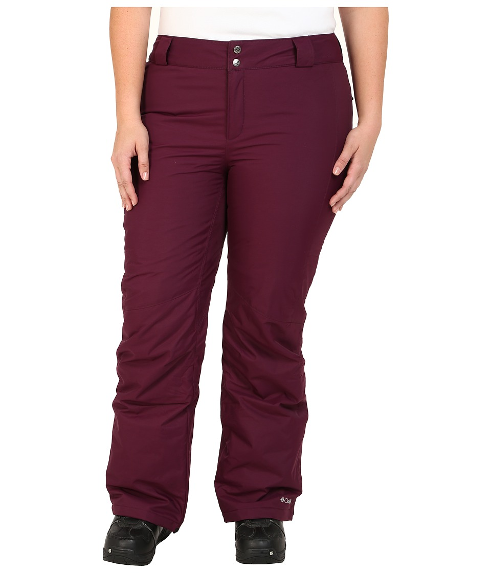Columbia - Plus Size Bugaboo Pant (Purple Dahlia) Women's Casual Pants