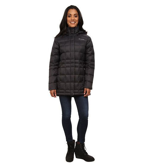 Columbia - Hexbreaker III MId Down Jacket (Black) Women
