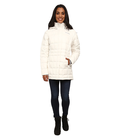 Columbia - Hexbreaker III MId Down Jacket (Sea Salt) Women's Coat