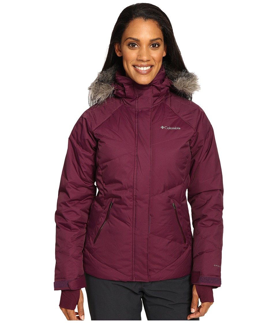 Columbia - Lay 'D' Down Jacket (Purple Dahlia Dobby) Women's Coat