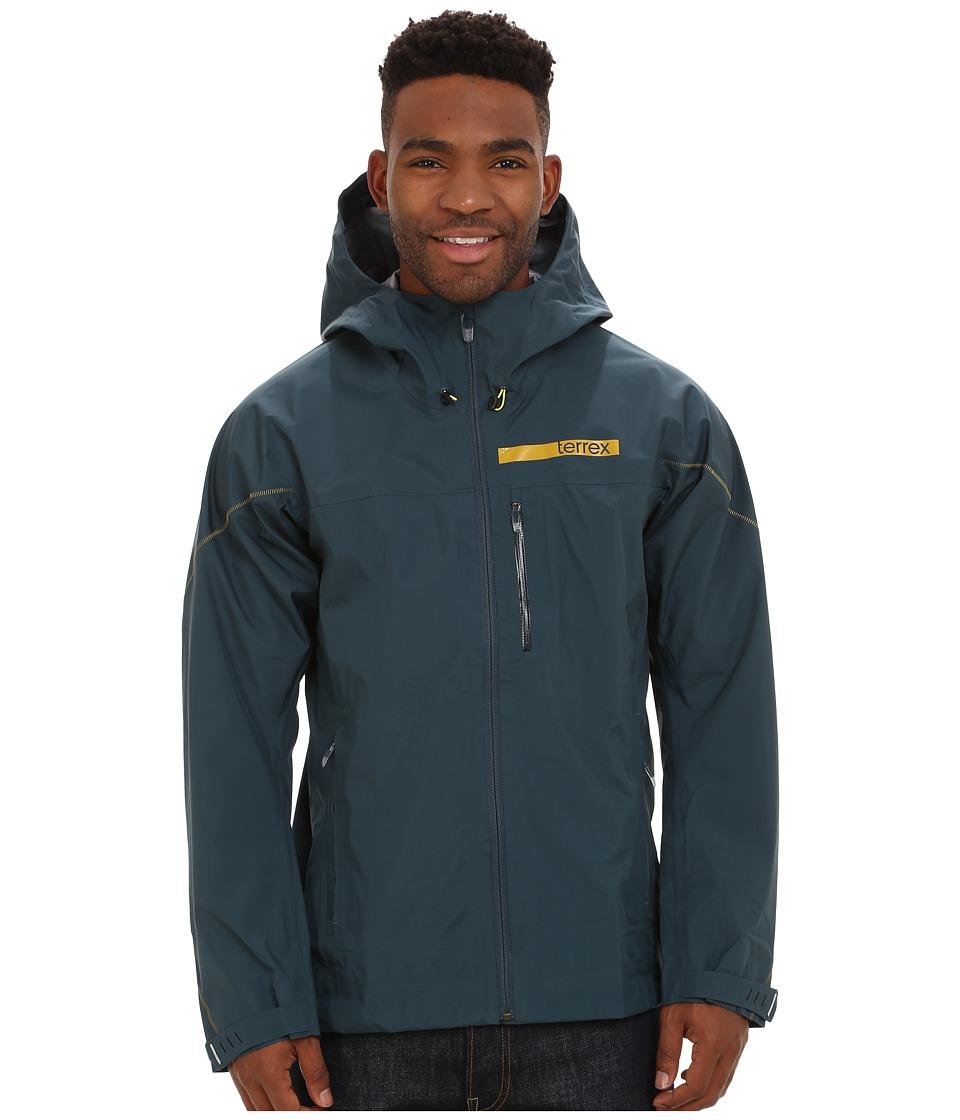 adidas Outdoor - Terrex GTX Active Shell 3 Jacket (Midnight) Men's Coat