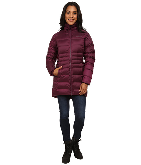 Columbia - Hellfire Mid Down Jacket (Purple Dahlia) Women's Coat
