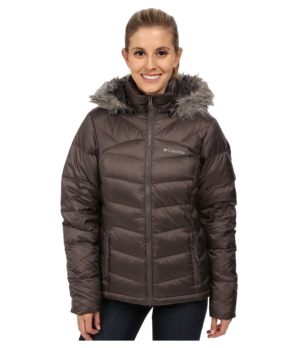 Columbia - Glam-Her Down Jacket (Mineshaft) Women's Coat