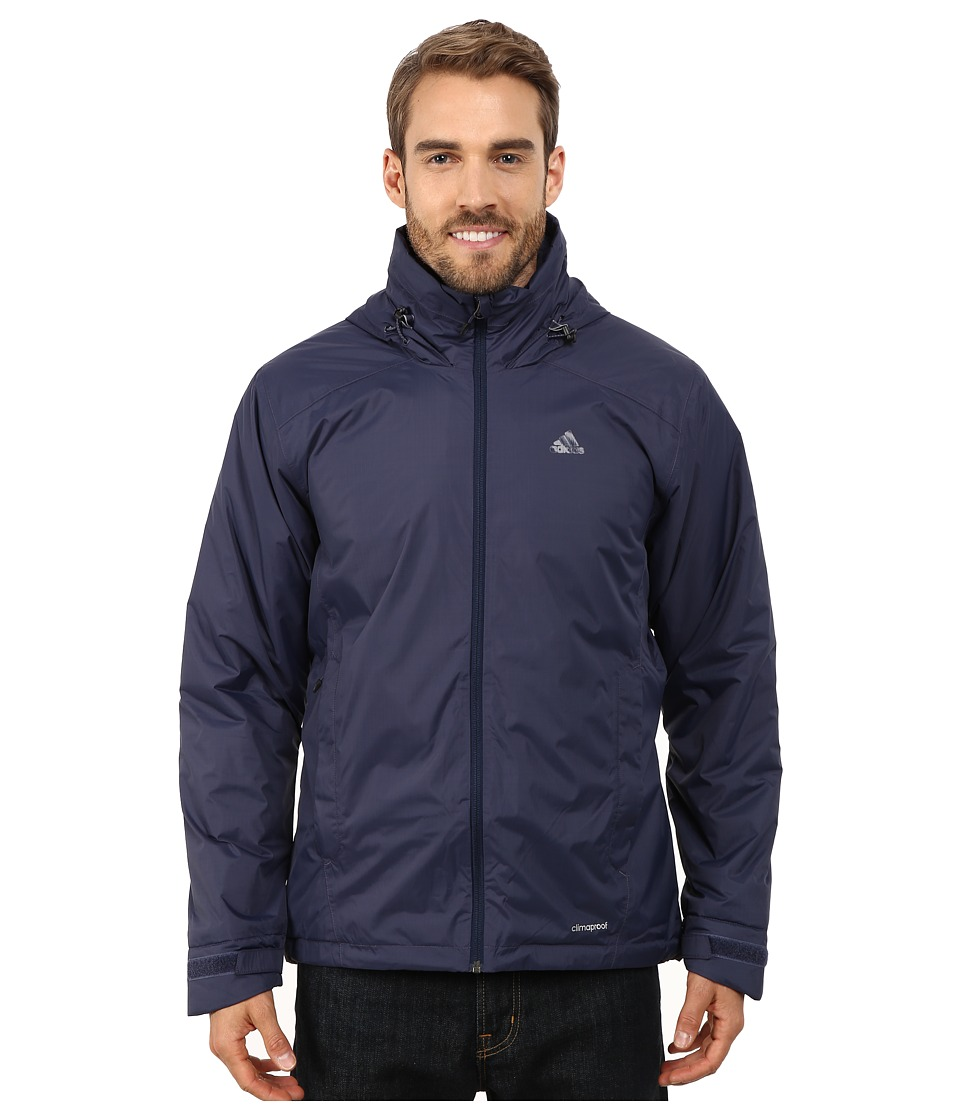 adidas Outdoor - Hiking Wandertag Insulated Jacket (Midnight Grey) Men's Coat
