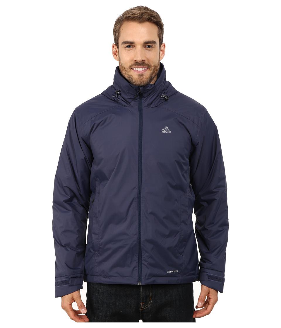 adidas Outdoor - Hiking Wandertag Insulated Jacket (Midnight Grey) Men's Coat
