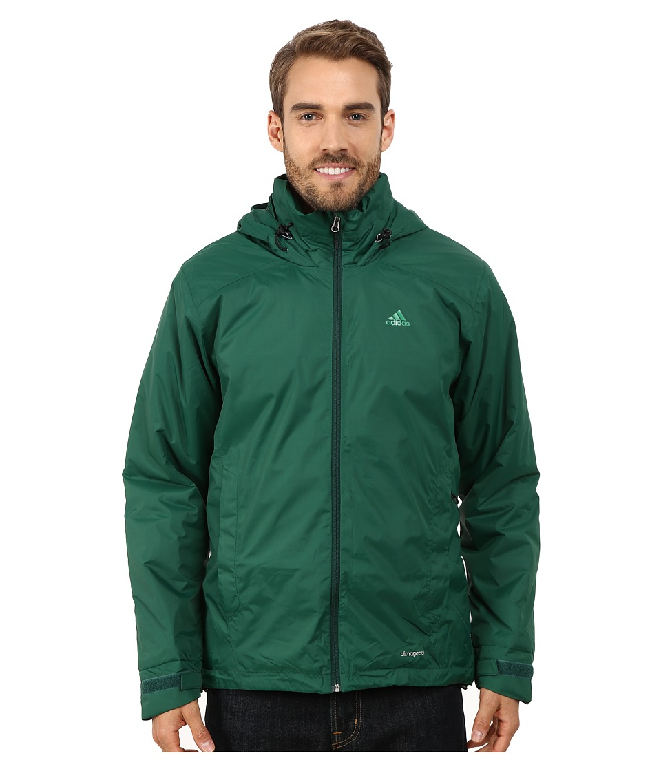 adidas Outdoor - Hiking Wandertag Insulated Jacket (Dark Green) Men's Coat