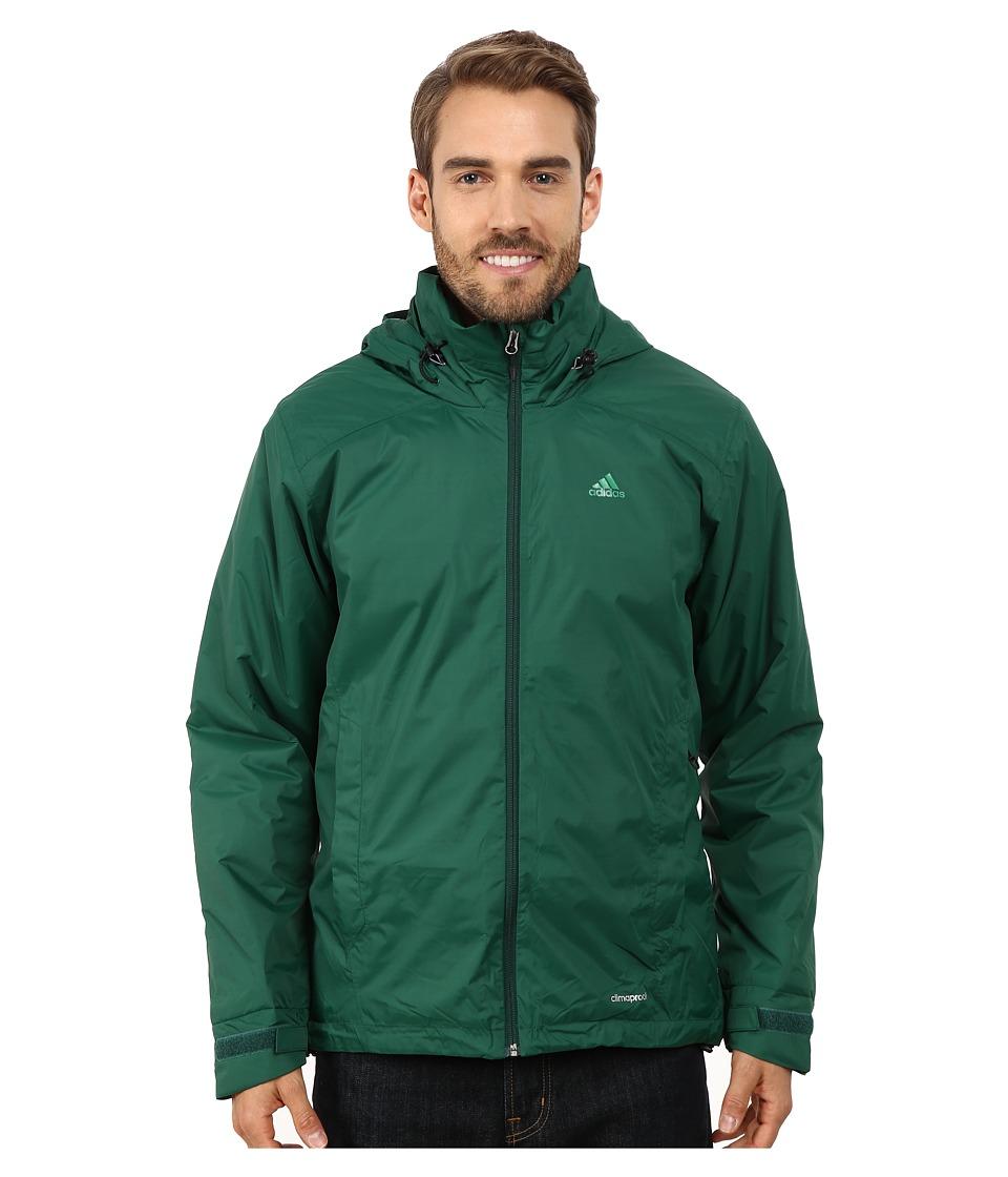 adidas Outdoor - Hiking Wandertag Insulated Jacket (Dark Green) Men's Coat