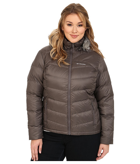 Columbia - Plus Size Glam-Her Down Jacket (Mineshaft) Women