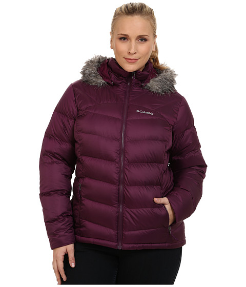 Columbia - Plus Size Glam-Her Down Jacket (Purple Dahlia) Women