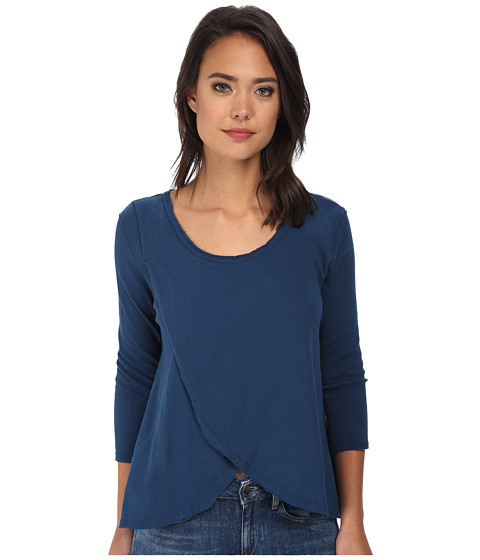 Free People - Grandpa Jersey Bonsai Tee (Starlight) Women