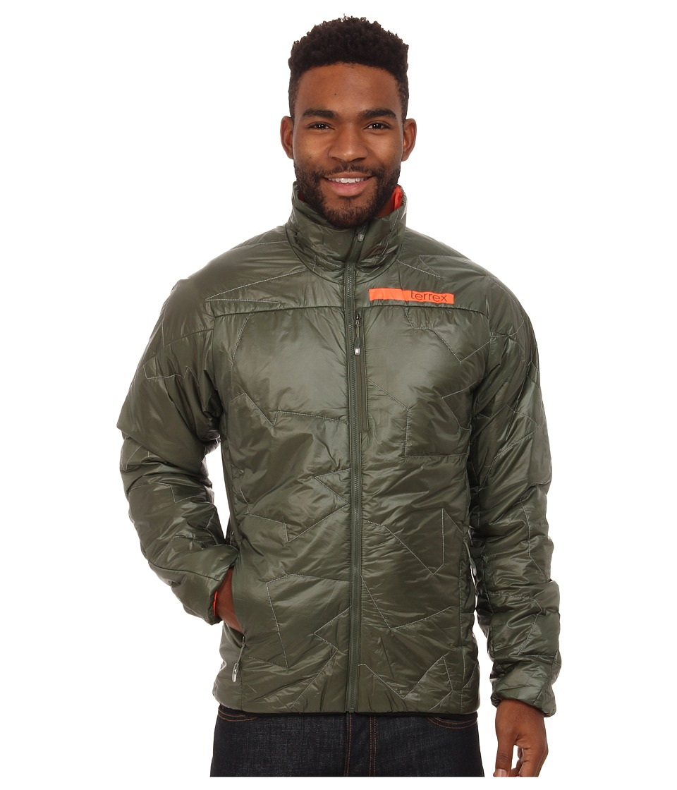 adidas Outdoor - Terrex Agravic Primaloft Jacket (Base Green) Men