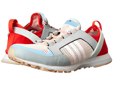 adidas by Stella McCartney - Eulampis 2 (Eggshell/Running White/FTW White/Box Red) Women