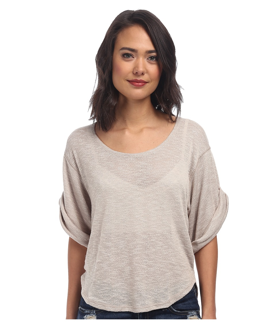 Free People - Nani Tee (Cream Combo) Women's T Shirt
