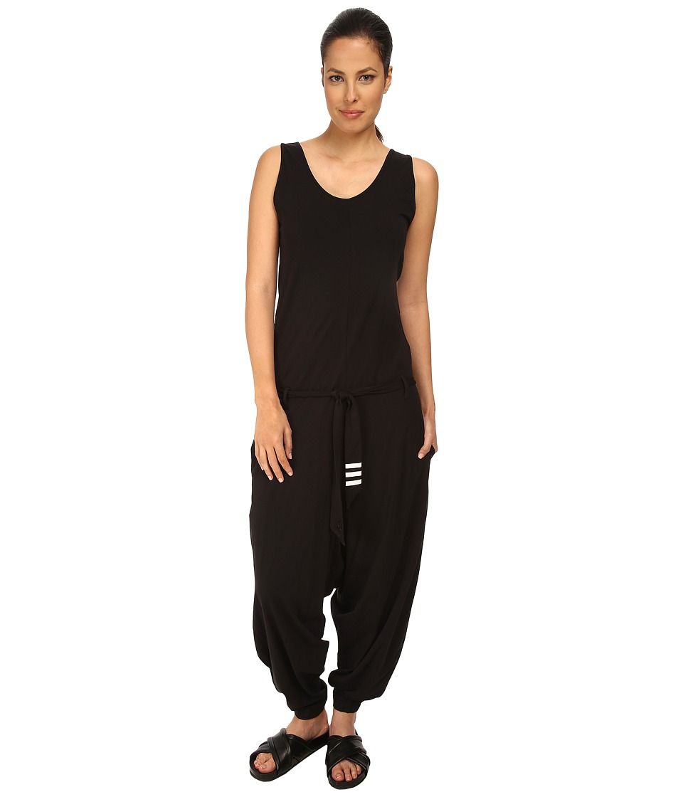 adidas Y-3 by Yohji Yamamoto - Elongated Jumpsuit (Black) Women's Jumpsuit & Rompers One Piece