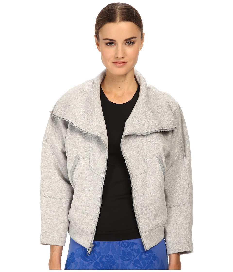 adidas by Stella McCartney We Fleece S15157 (Pearl Grey Heather) Women