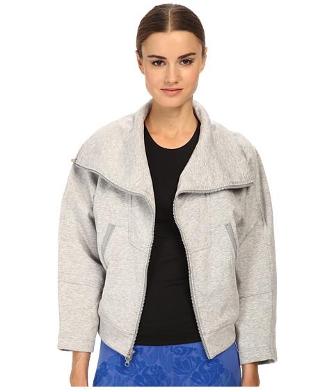 adidas by Stella McCartney - We Fleece S15157 (Pearl Grey Heather) Women