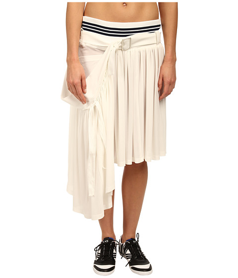 adidas Y-3 by Yohji Yamamoto - Summer Track Skirt (Core White) Women's Skirt