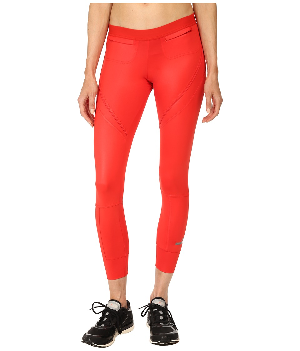 adidas by Stella McCartney - Studio Long Tight S16486 (Scarlet Red) Women's Workout