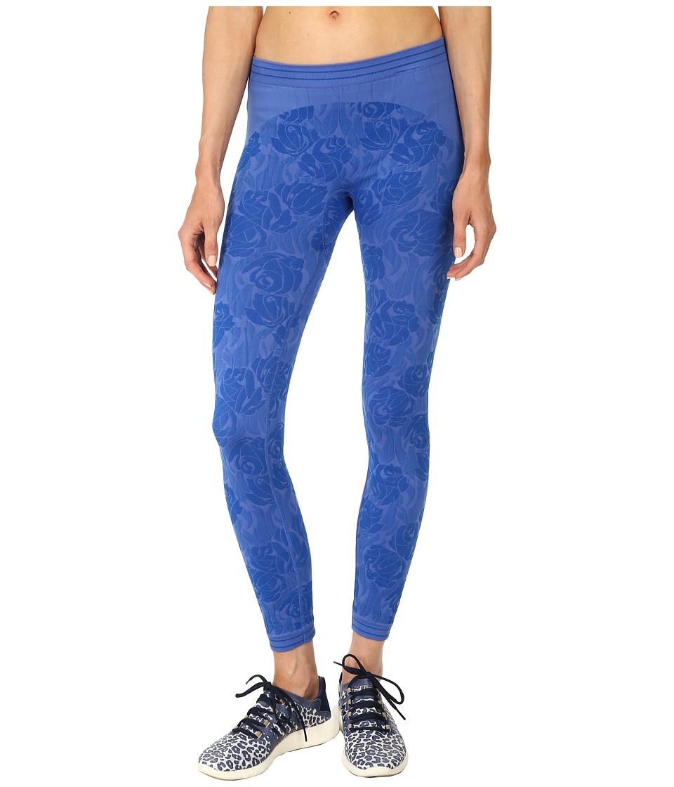adidas by Stella McCartney - Seamless Tight S07345 (Flight Blue) Women's Workout