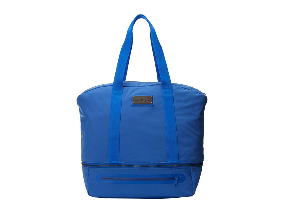 adidas by Stella McCartney - Iconic Big (Flight Blue/Gunmetal) Tote Handbags