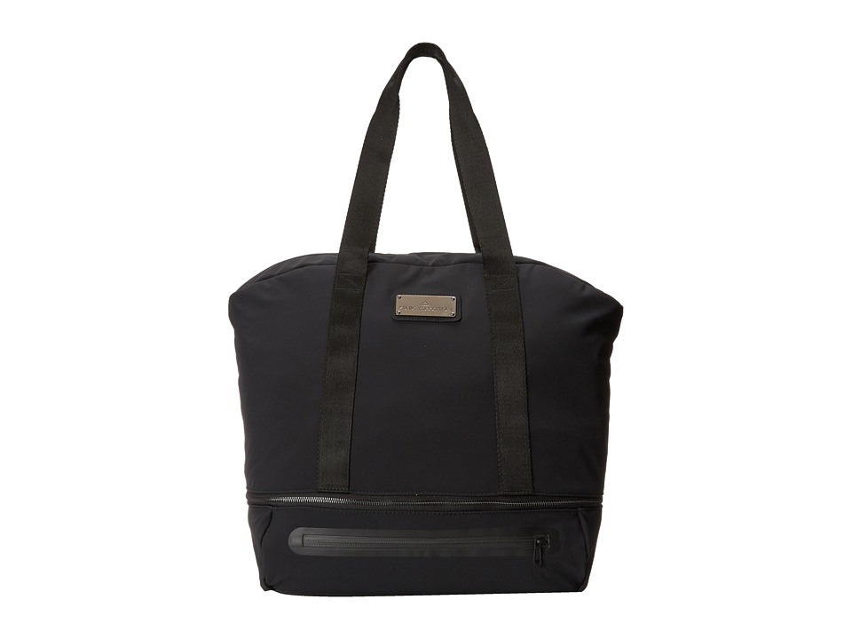 adidas by Stella McCartney - Iconic Big (Black/Gunmetal) Tote Handbags