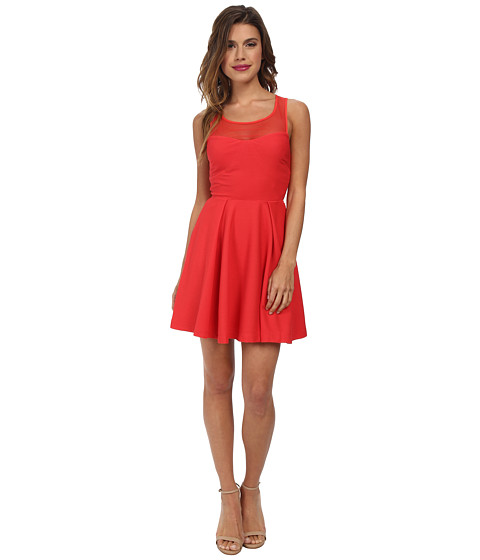 BCBGeneration - Empire Dress with Back Tie (Passion) Women's Dress