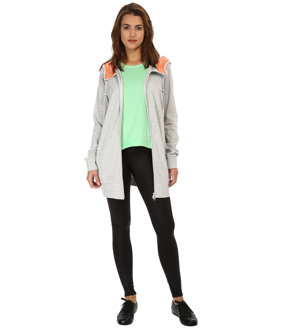 adidas Y-3 by Yohji Yamamoto - Beach Hoodie (Light Grey Heather) Women's Sweatshirt